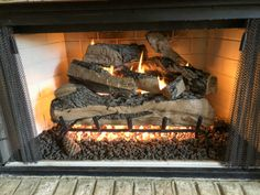 How to Add Herringbone Marble Tile to a Fireplace - Southern Hospitality Tile Around Fireplace, Gas Fireplace Logs, Gas Logs, Fireplace Surrounds, Fireplace Ideas, Southern Sayings, Southern Girls, Southern Living, Country Girl Quotes