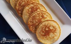 Skót palacsinta recept fotóval Fudge, Pancakes, Muffin, Food And Drink, Cookies, Breakfast, Mille Crepe, Crepes, Dutch