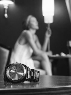 Depth of field.  Classy and chic focus on the new Nixon x Liberty acetate and rose gold watch.