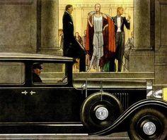 tender-isthe-night:  Bernard Boutet de Monvel, 1929.