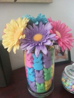 My easter center piece