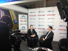 My Security Media at the Security 2012 Exhibition. Filming My Security TV!