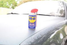 How to Remove Scratches From Your Car - WD-40 Test