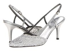 Stuart Weitzman Bridal & Evening Collection Lady Pewter Swiss Lace - Zappos.com Free Shipping BOTH Ways