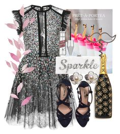 """""""Sparkle"""" by bibi-b ❤ liked on Polyvore featuring interior, interiors, interior design, home, home decor, interior decorating, Thames & Hudson, Elie Saab, Miu Miu and Edie Parker"""