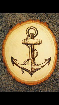 Anchor wood design