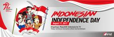 Spanduk Kemerdekaan Indonesia ke 72 Open Order Brochure Templates Free Download, Indesign Templates, Indonesian Independence, Skin Color Chart, Javanese, Technology Background, Eid Mubarak, Microsoft Word, Banner Design