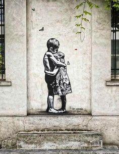 Street art graffiti stencil life 59 new ideas – Nail art. – Street art graffiti stencil life 59 new ideas – Nail art. Banksy Graffiti, Street Art Banksy, Graffiti Artwork, Bansky, Berlin Graffiti, Graffiti Quotes, Graffiti Wallpaper, Illusion Kunst, Illusion Art