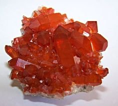 Hematite included Quartz / Orange River, South Africa
