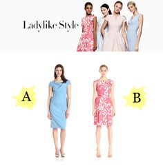 """LADYLIKE STYLE www.theteelieblog.com """"Need a break from your LBD? Try a classic shape in an unexpected yet versatile hue."""" #TeelieBlog"""