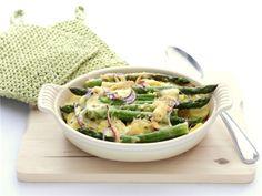 Ovenschotel met groene asperges