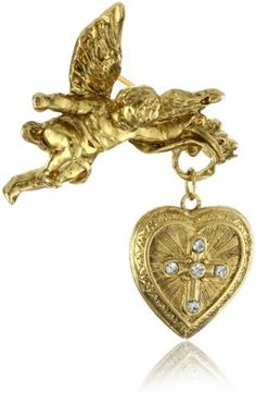 The Vatican Library Collection Glory of the Cross Brooch * Check this awesome product by going to the link at the image. (This is an affiliate link) Vintage Costume Jewelry, Vintage Costumes, Vatican Library, Women's Brooches, I Love Heart, Religious Jewelry, Heart Charm, Women's Earrings, Brooch Pin