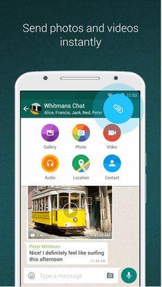 Ya disponible para descargar WhatsApp 2.12.298 APK