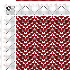 Hand Weaving Draft: Page 336, Figure 4, Orimono soshiki hen [Textile System], Yoshida, Kiju, 8S, 8T - Handweaving.net Hand Weaving and Draft Archive