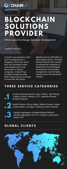 Cryptocurrency exchange software provider ChainUP is one of the toppest white lable and SaaS system exchange software company Safety Audit, Local Banks, Crypto Bitcoin, Legal Tender, Complex Systems, Blockchain Technology, Marketing Tools, Software Development