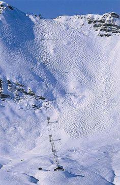 La Chavanette, Avoriaz - The world's scariest ski runs - Telegraph Mure Swiss / The Swiss wall