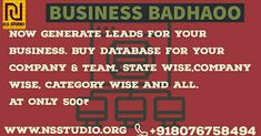 Buy database for your company lead generation Lead Generation, Periodic Table, Business, Stuff To Buy, Periodic Table Chart, Periotic Table, Store, Business Illustration