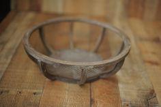 Sitters and NB Prop-wood framed basket
