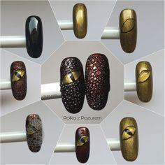 Nail Art Blog, Gel Nail Art, Gel Nails, Minimalist Nails, Dragon Nails, Bubble Nails, Animal Nail Art, Gel Nagel Design, Cat Eye Nails
