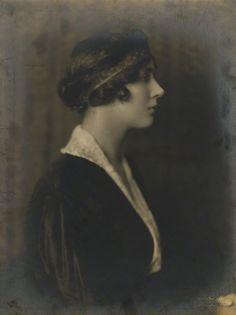 Violet Trefusis (1894-1972) - English Writer. Circa Late-1920's. Photo by Bertram Park.
