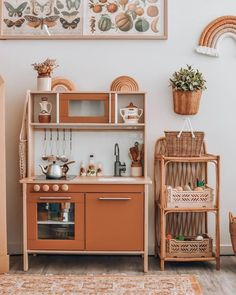Pimping an IKEA kitchen? View fun ideas and inspiring hack examples of . - Pimping an IKEA kitchen? View fun ideas and inspiring hack examples from the popular Duktig toy kit - Ikea Play Kitchen, Cute Kitchen, Play Kitchens, Kitchen Paint, Toddler Kitchen, Kitchen Hacks, Baby Kitchen Set, Kitchen For Kids, Ikea Childrens Kitchen