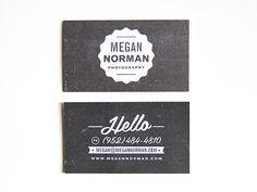 Custom Business Card Design // DapperPaper