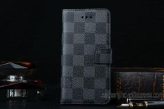58d54c2595494e Fashion Tips – Where to Buy Real Outlet Factory Luxury Louis Vuitton iPhone  6 / 6 Plus Real Leather Wallet Cases - Luxury iPhone 6 Cases - Navy