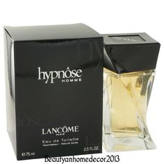 Hypnose Homme Cologne by Lancome for Men 2.5 oz Eau de Toilette Spray 75ml NIB #Lancme