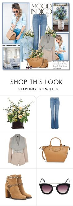 """""""Learning to trust is one of life's most difficult tasks!!"""" by lilly-2711 ❤ liked on Polyvore featuring ANNA, 7 For All Mankind, Oasis, Longchamp, Valentino and Raven Denim"""