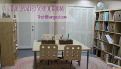 Schoolroom Home School Room Makeover