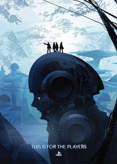 The Players / Playstation - Kilian Eng - Debut Art