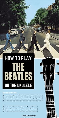 Ukulele Tabs Songs, Ukulele Fingerpicking Songs, Ukulele Songs Beginner, Guitar Chords For Songs, Music Guitar, Uke Tabs, Beatles Songs, Instruments, Play