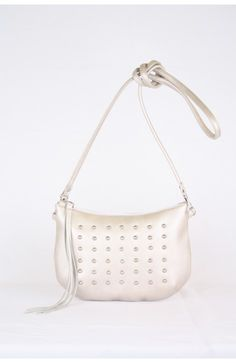 Shoulderbag pearl, one off, handmade in the Netherlands, Bruijs Handcrafted Leatherware, www.bruijs.com