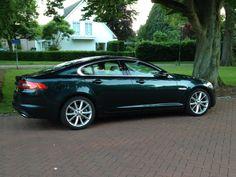 Jaguar XF in green. #jaguar #cars2014