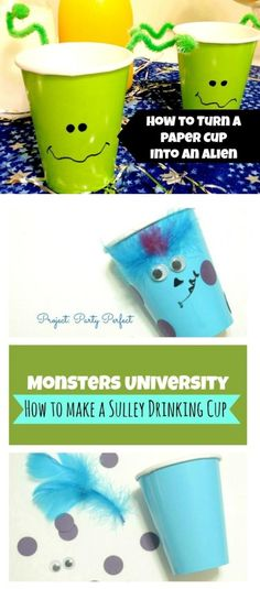 Monsters University: How to Make a Sulley Cup