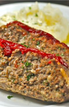 Tender Meatloaf with Spicy Ketchup - The Hopeless Housewife®