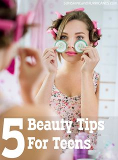Are you raising a teen girl? Wondering what the 5 best teen beauty tips are that she should learn? hacks for teens girl should know acne eyeliner for hair makeup skincare Skin Care Regimen, Skin Care Tips, Beauty Hacks For Teens, Teen Beauty Tips, Tips & Tricks, Tips Belleza, Skin Problems, Beauty Routines, Beauty Secrets
