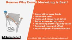 With the experience and expertise of The Webdesign in your area you are at the right address for a fruitful mail marketing campaign.