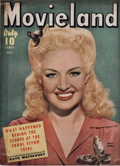 Betty Grable on the May 1943 Movieland