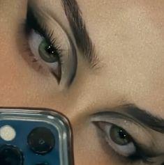 Edgy Makeup, Makeup Eye Looks, Grunge Makeup, Eye Makeup Art, Cute Makeup, Makeup Goals, Pretty Makeup, Makeup Inspo, Skin Makeup
