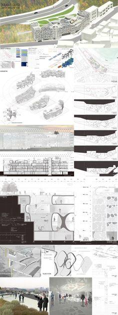 Hanyang UNIV. SEM2_Final_Yongsan Public Library Remodeling PRJ_DOUBLE SIDED_penetrating the void