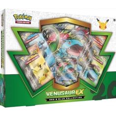Pokemon Red and Blue Collection: Venusaur EX