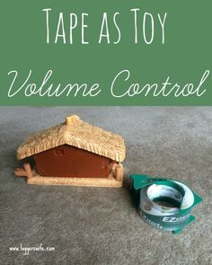 How to use packing tape to make those noisy toys a little quieter