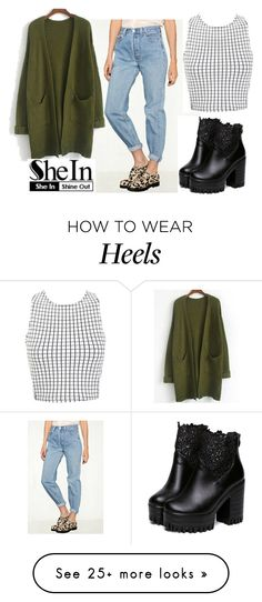 """shein"" by aifosfromvenus on Polyvore featuring Urban Outfitters and Miss Selfridge"