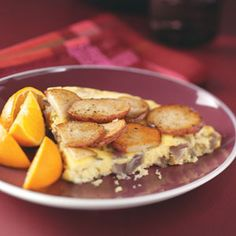 Potato & Red Onion Frittata