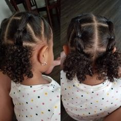 Mixed Baby Hairstyles, Cute Toddler Hairstyles, Natural Hairstyles For Kids, Kids Braided Hairstyles, Natural Hair Styles, Black Baby Girl Hairstyles, Doll Hairstyles, Hair Products, Beauty Products