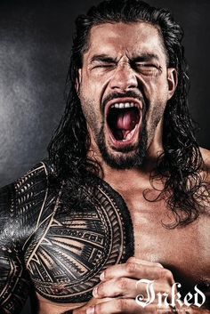 """Roman Reigns Opens Up On Working Alongside """"The Rock"""" in Hobbs & Shaw, Tattoos and His Favorite Fans - Tattoo Ideas, Artists and Models Roman Reigns Tattoo, Wwe Roman Reigns, Werewolf Name, Roman Regins, Wwe Superstar Roman Reigns, Sheamus, Rock Johnson, Dwayne The Rock, Thing 1"""