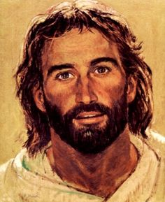 images of jesus the messiah | Head of Christ', Richard Hook, painting