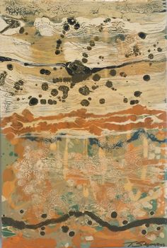 "Thomasa Seymour ""Wood & Lace 1"" 20x13.5 on wood panel - Gregg Irby Gallery"