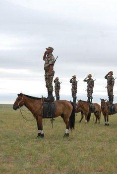 Mongolian Cavalry.
